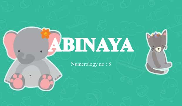 abinaya name