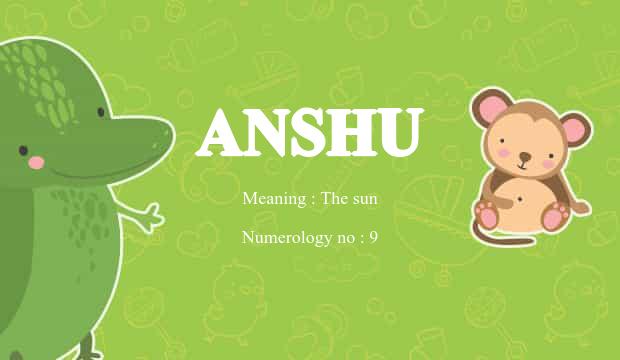 anshu alphabet