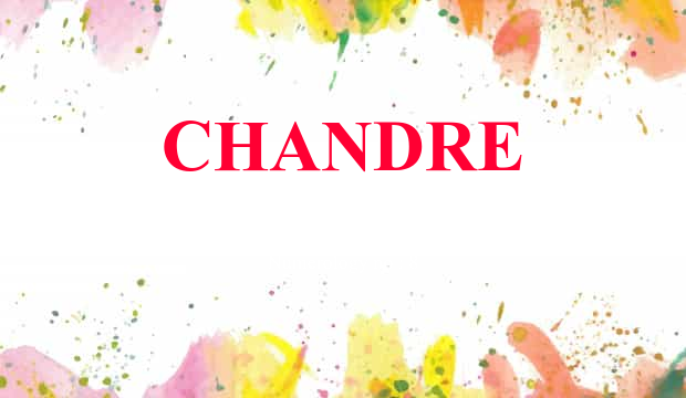 Chandre Name Meaning