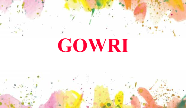 Astrology details of name Gowrisankar