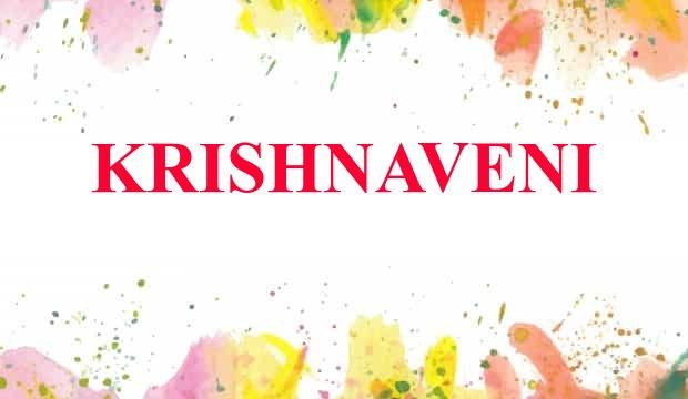 Krishnaveni Name Meaning