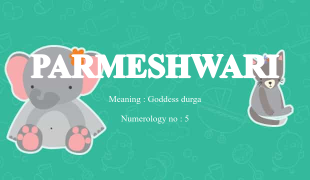 name parameshwari