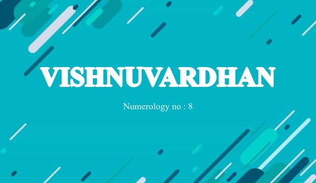 Vishnuvardhan Name Meaning