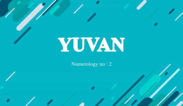 what is the meaning of yuvan