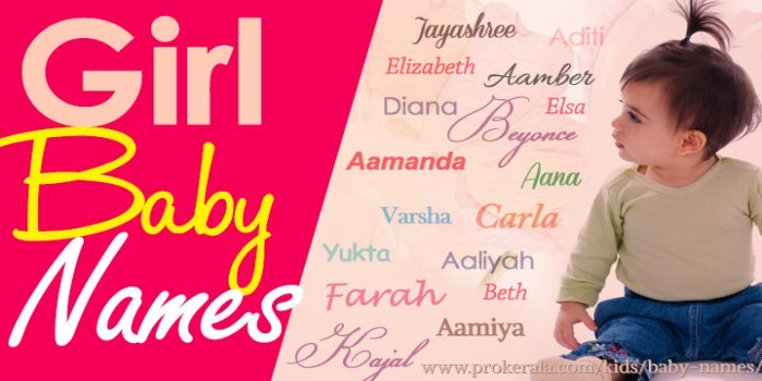 Girl Baby Names | Girl Names & Meanings | Names for Baby Girl