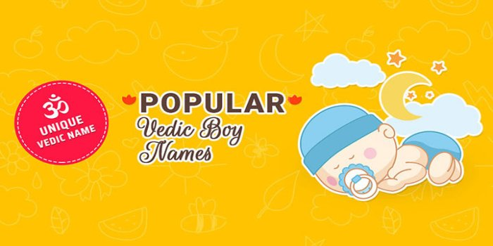 Unique Vedic Hindu Baby boy Names