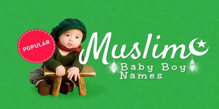 Muslim popular boy baby names