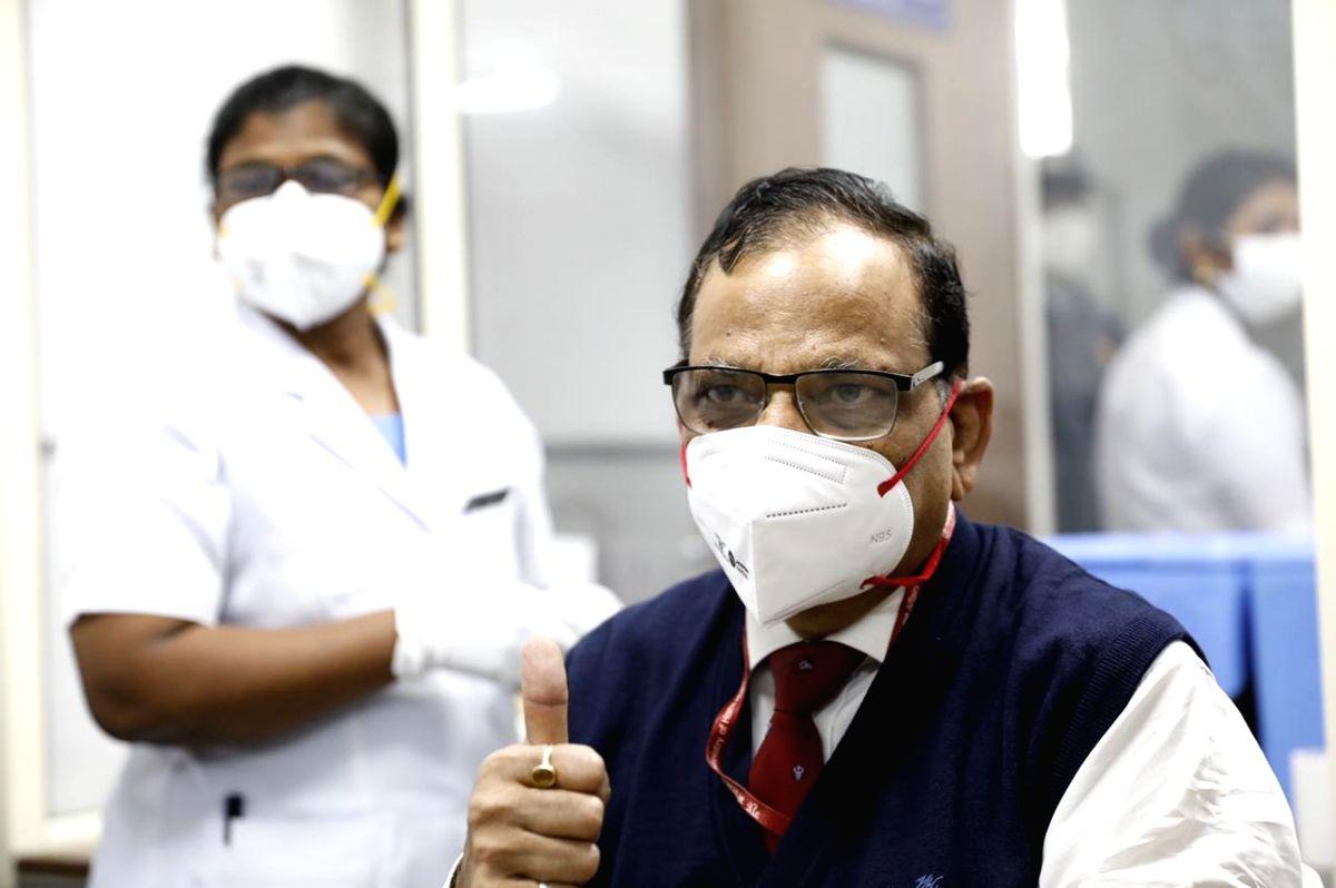 NITI Aayog member receives 2nd dose of Covaxin at AIIMS - Prokerala