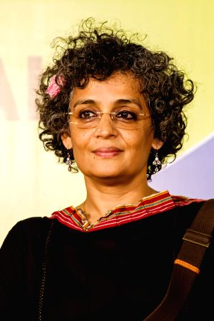 Neck and neck race for Man Booker, too close to call for Arundhati Roy