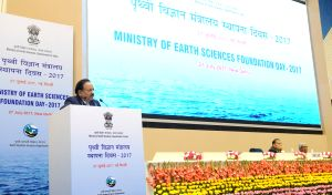 Ministry of Earth Sciences-2017 Foundation Day  programme - Harsh Vardhan
