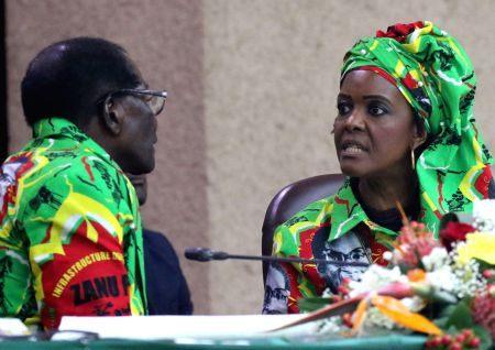 ZIMBABWE-HARARE-GRACE MUGABE-SUCCESSOR