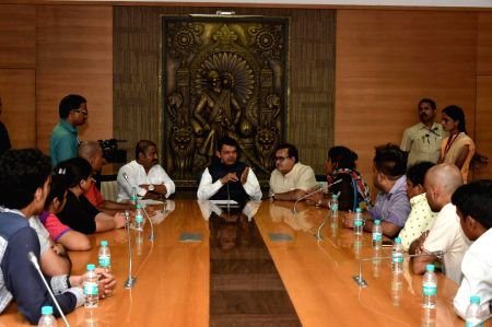Maharashtra CM chairs a meeting on Sai Darshan building collapse