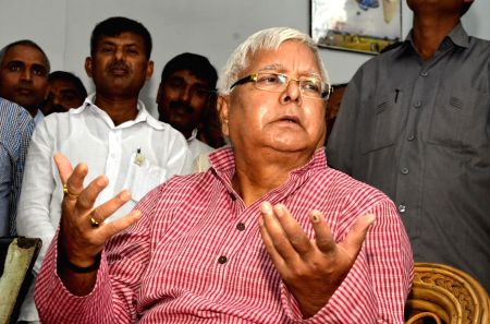 Lalu's press conference