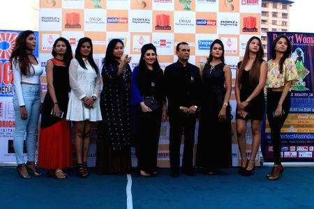 Press conference of Bright Perfect Miss India, Beauty Pageant
