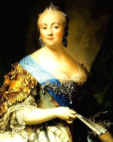 Empress Elizabeth, one of the four Romanov women rulers who presided over Russia's fortunes most of the 18th century