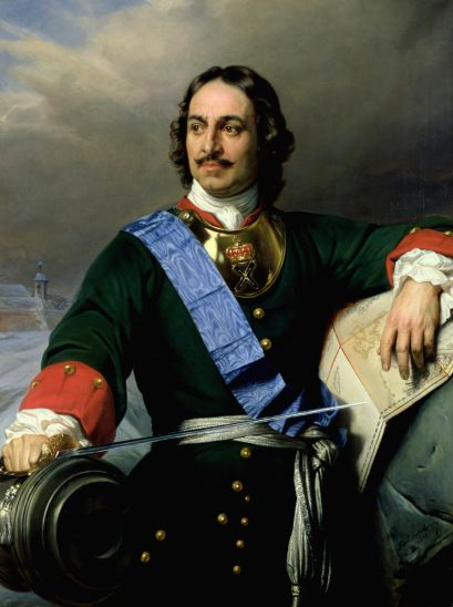 Peter the Great, the larger-than-life Romanov ruler who transformed Russia into an empire