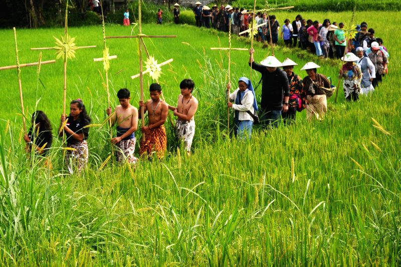 Magelang Indonesia  city images : INDONESIA MAGELANG GOOD FRIDAY PASSION PLAY