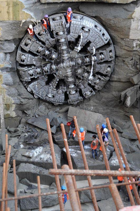 tunnel boring machine nasa - photo #16