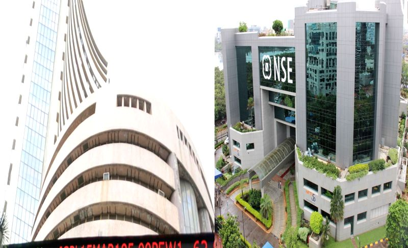 A view of Bombay Stock Exchange (BSE) and National Stock Exchange (NSE)(Image Source: IANS)