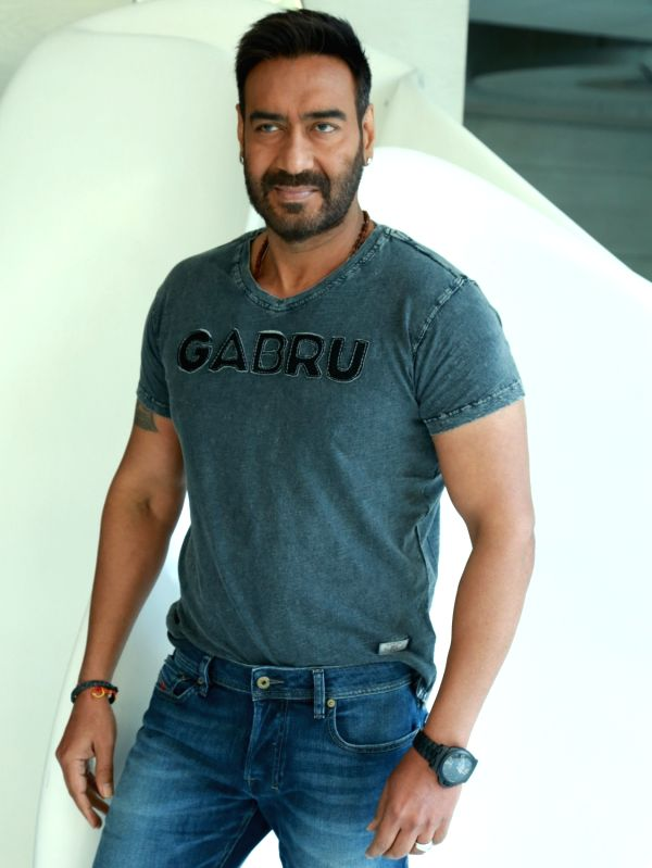 Actor Ajay Devgn during a programme organised to promote his upcoming film