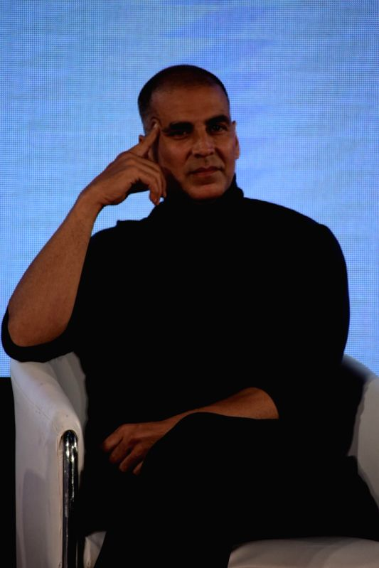 Actor Akshay Kumar at the song launch of his upcoming film
