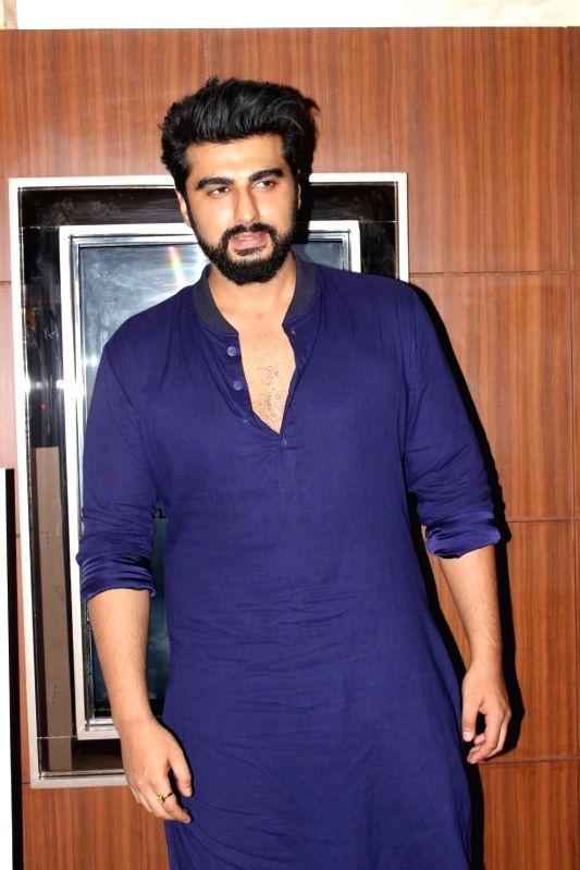 Actor Arjun Kapoor at a cinema hall in Mumbai, on July 28, 2017.