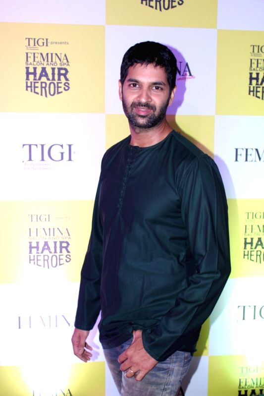 Actor Purab Kohli.during the finale of Femina Salon and Spa Hair Heroes 2016 in Mumbai  in Mumbai on Nov 16, 2016.