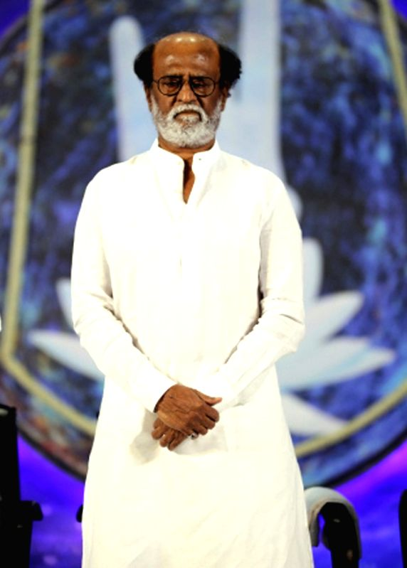 Actor Rajinikanth. (Image Source: IANS)