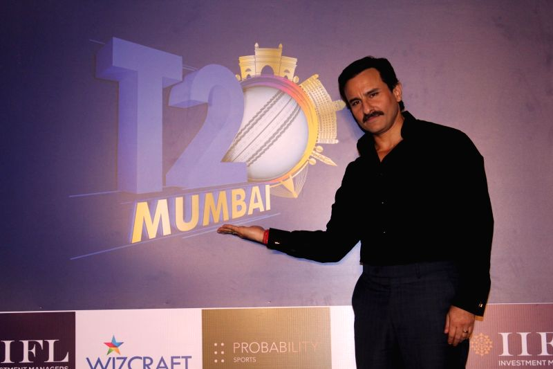 Actor Saif Ali Khan at the launch of Mumbai T20 League by Mumbai Cricket Association (MCA) on Dec 7, 2017.