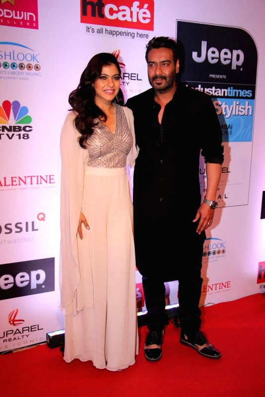 Actors Ajay Devgan and Kajol. (Photo: IANS)(Image Source: IANS News)