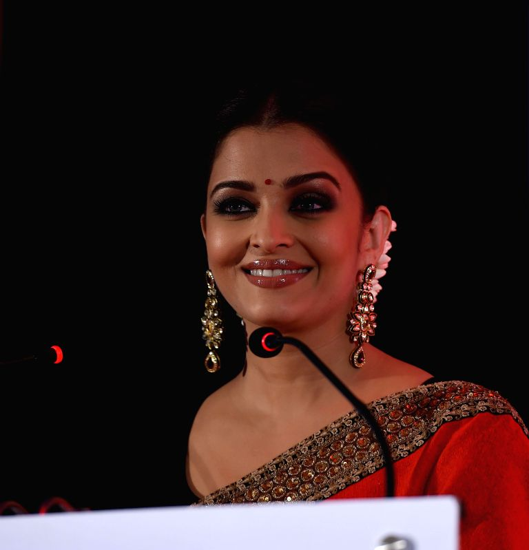 Actress Aishwarya Rai Bachchan during a programme in Chennai on July 27, 2014.(Image Source: IANS)