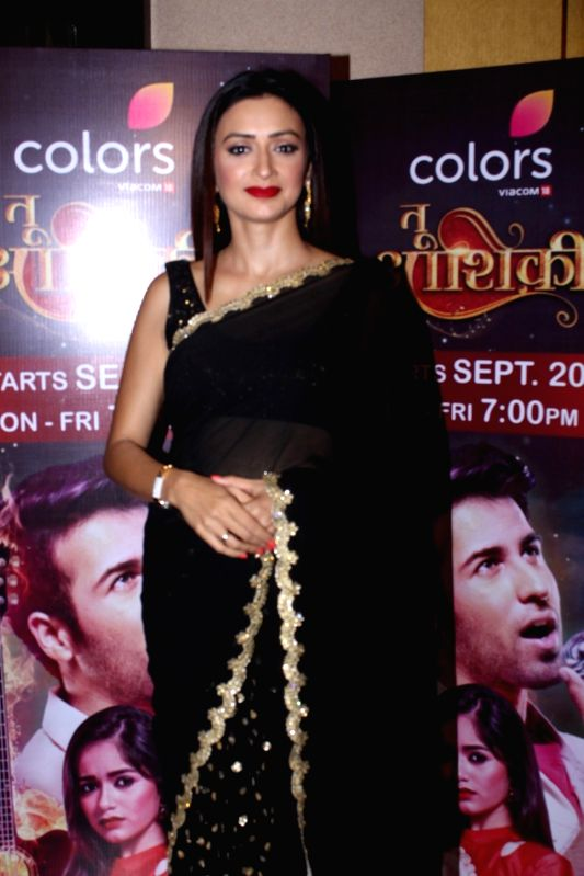 Actress Gauri Pradhan during the launch of colors new TV Show