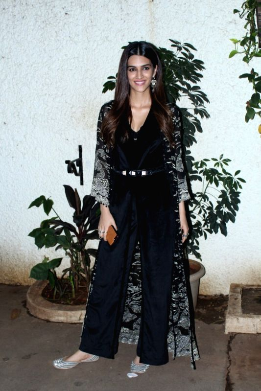 Actress Kriti Sanon during the special screening of her upcoming film