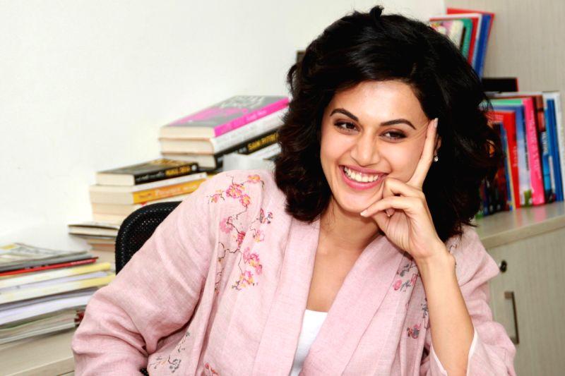 Actress Taapsee Pannu. (File Photo: IANS)