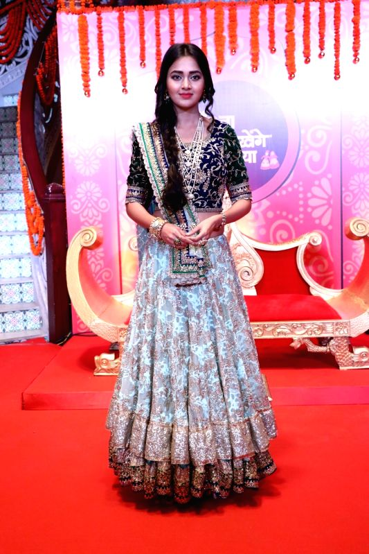 Actress Tejaswi Prakash during the launch of new television show