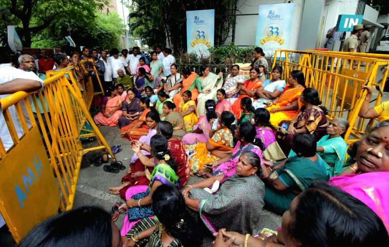 hospital for updates about tamil nadu chief minister j jayalalithaa