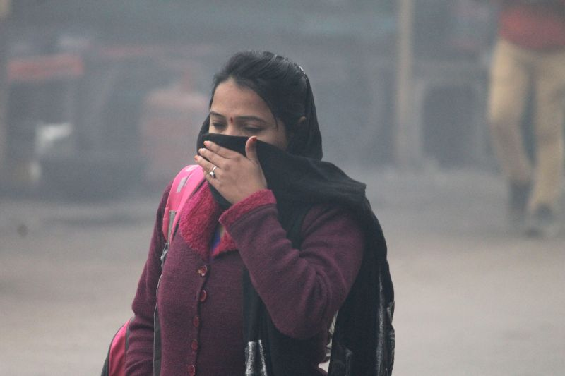 Air pollution(Image Source: IANS)