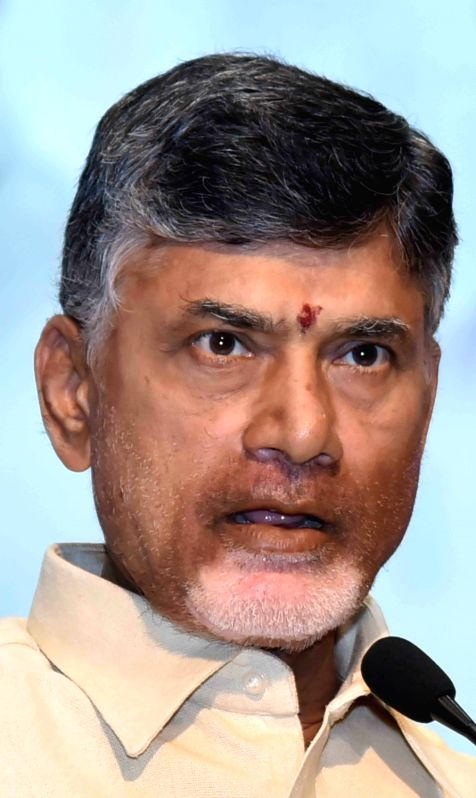 Andhra Pradesh Chief Minister N Chandrababu Naidu. (Image Source: IANS)
