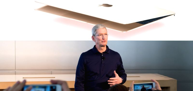 Apple CEO Tim Cook. (Image Source: IANS)
