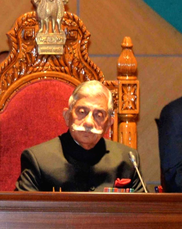 :Arunachal Pradesh Governor B.D. Mishra. (File Photo: IANS).