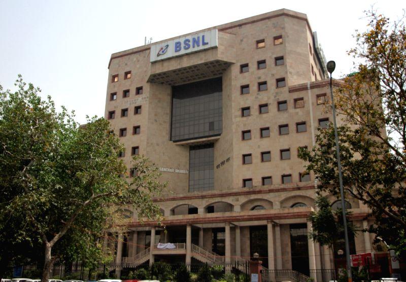 Bharat Sanchar Nigam Limited (BSNL) building, Delhi. (File Photo: IANS)