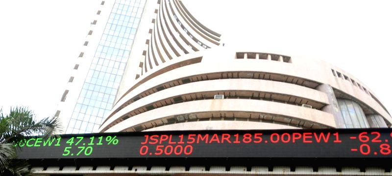 Bombay Stock Exchange. (File Photo: IANS)(Photo:IANS)