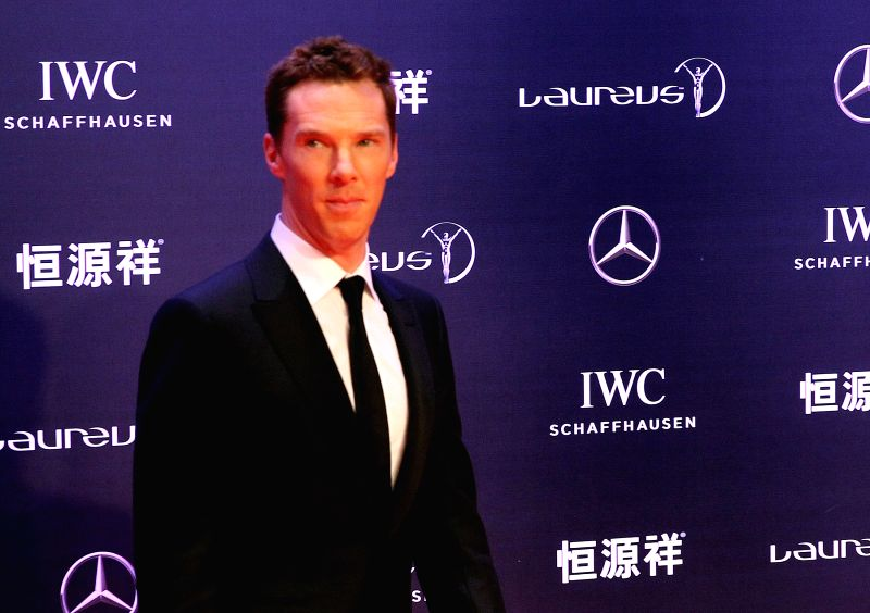 British actor Benedict Cumberbatch. (File Photo: Xinhua/Chen Fei/IANS)(Photo:IANS)