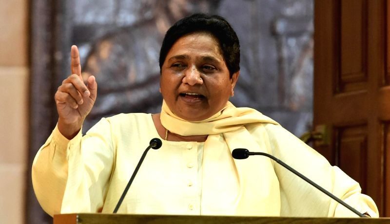 BSP Supremo Mayawati. (Image Source: IANS)
