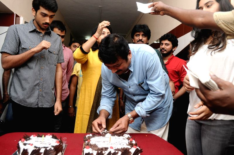 Actor Jayaram Birthday Celebration Stills
