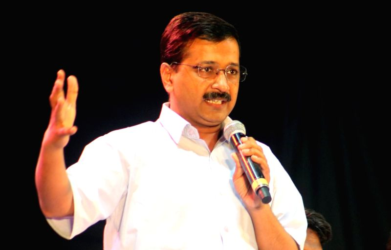 Delhi Chief Minister Arvind Kejriwal. (Image Source: IANS)