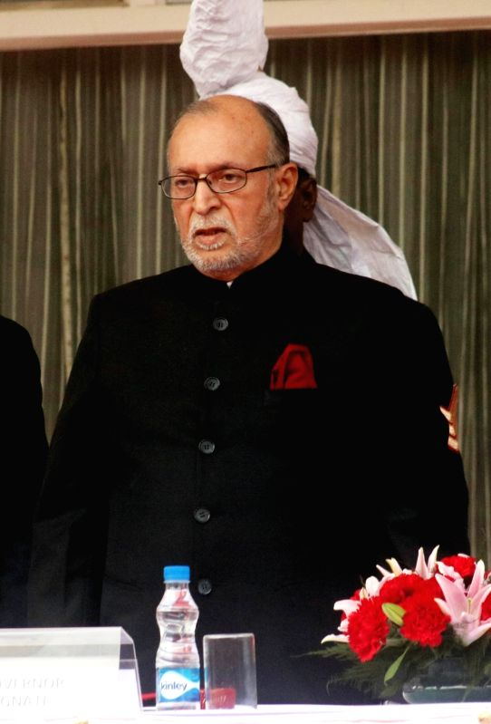 Delhi Lt Governor Anil Baijal.(File Photo: IANS)(Photo:IANS)