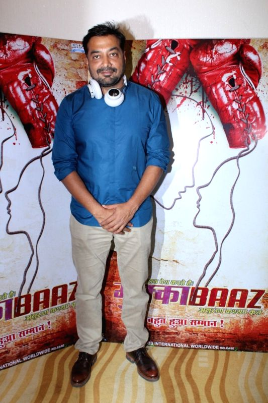 Director Anurag Kashyap during the trailer launch of upcoming film