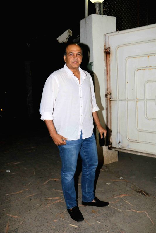 "Director Ashutosh Gowariker at the special screening of upcoming film ""Blackmail"" in Mumbai on April 1, 2018.(Image Source: IANS)"