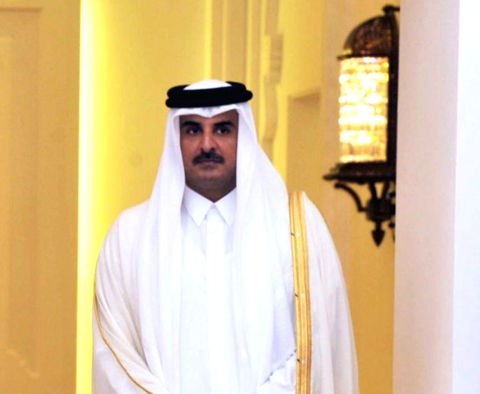 Emir of Qatar Sheikh Tamim Bin Hamad Al Thani. (File Photo: IANS)